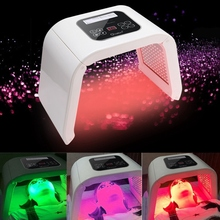 Genuine  4Color LED photon light therapy machine PDT treatment skin Regeneration Tighten Remover Anti wrinkle Spa Skin Care Tool