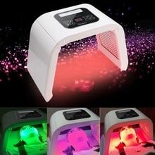 Genuino 4 di Colore LED photon terapia della luce macchina PDT trattamento di Rigenerazione della pelle Stringere Rimozione Anti rughe Spa La Cura Della Pelle strumento