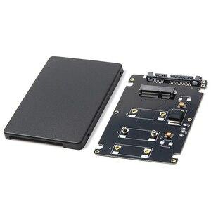 Image 1 - Mini PCIe MSATA SSD 2.5 Inch SATA3 Adapter Thẻ Với 7 Mm Độ Dày Đen