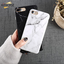 KISSCASE Marble Pattern Phone Case For iPhone X 7 8 6 6S Plus Case Soft Silicon Cases For iPhone 5 5S SE Protective Phone Covers стоимость