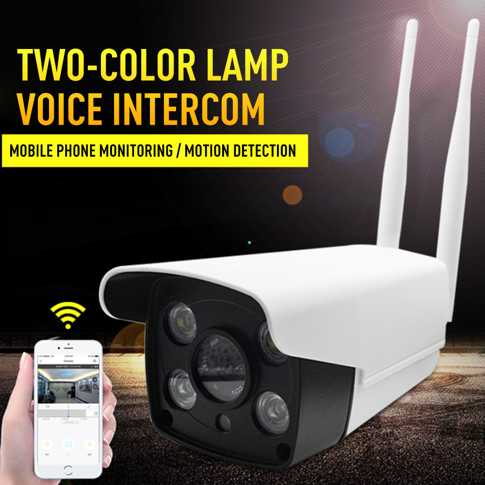 720P HD Wireless WiFi IP Camera Security Surveillance Camera Support TF Card Waterproof Night Vision Remote Control App Monitor720P HD Wireless WiFi IP Camera Security Surveillance Camera Support TF Card Waterproof Night Vision Remote Control App Monitor