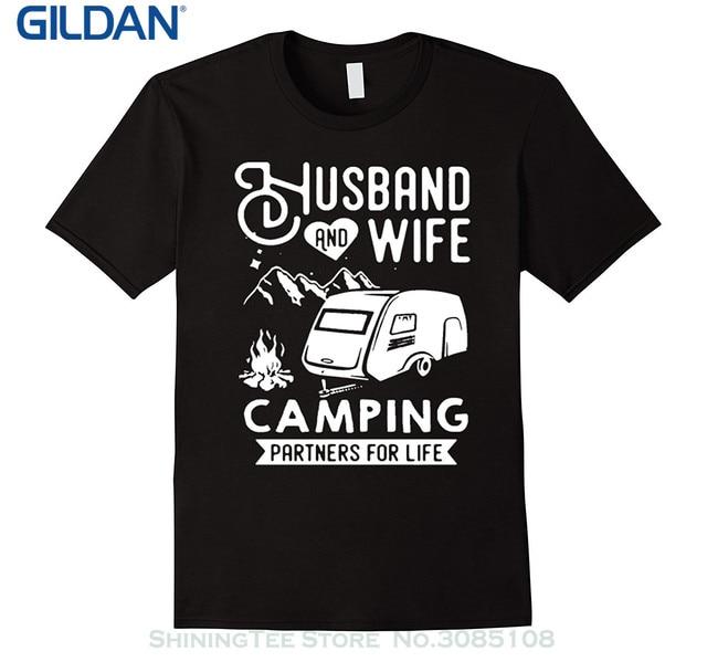 Mannen T-shirts Zomer Stijl Mode Swag Mannen T Shirts. Liefde Campings Vrouw En Man Shirt