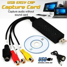USB 2.0 Audio Video VHS to PC DVD Converter Capture Card Adapter UTV 007 TV DVD VHS Audio Video Cables support Win7 new free driver capture card usb 2 0 video adapter audio high quality tv dvd vhs audio av easiercap adapter computer cctv camera
