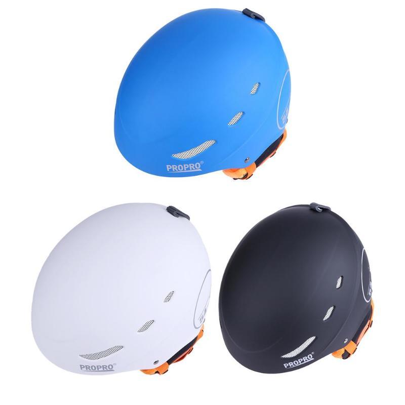 Skiing & Snowboarding Sports & Entertainment Practical Propro Ski Helmet Ultralight Integrally-molded Adult Safety Warm Helmet Men Women Snowboard Monoboard Skateboard Snow Skatie New Delaying Senility