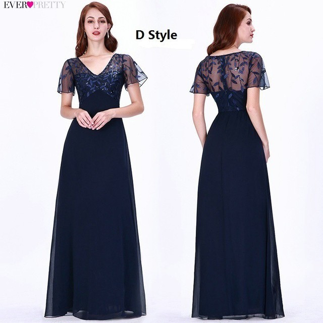 Sexy Lace Prom Dresses Long Ever Pretty V-Neck A-Line Lace Formal Dresses Elegant Party Gowns EZ07650 Vestido Largo Fiesta 2020 5