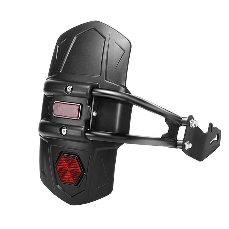 Motorcycle Mudguard Bracket Fender Rear Wheel Cover Splash Guard Modified Accessories Black Reflective Ornament Sturdy Durable Mudguards     -