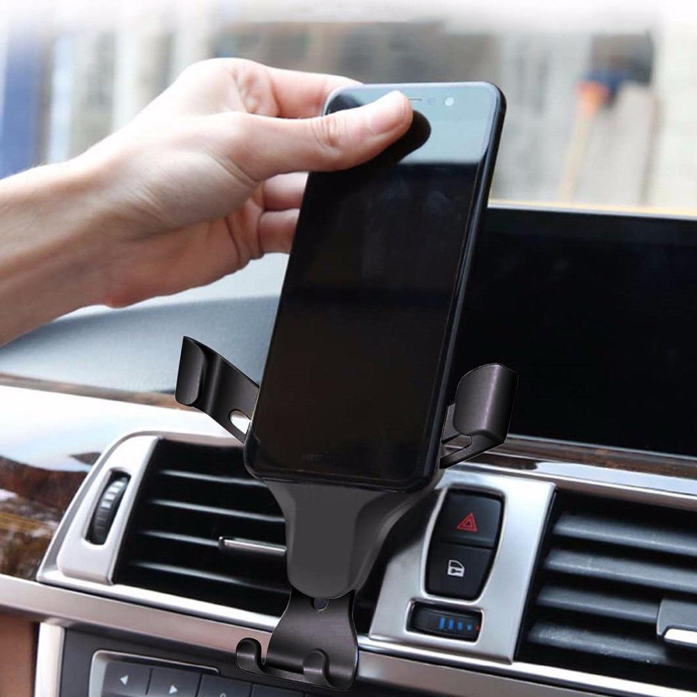 Universal Gravity Car Air Vent Mount Bracket Mobile Phone Stand Holder Cradle