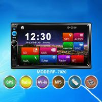 7020 7 Inch MP5 Car Player 7 Inchcar MP5 Universal Machine HD Bluetooth Universal Machine