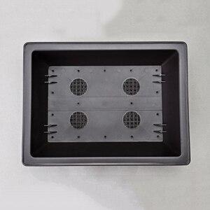 Image 5 - Прямоугольный горшок бонсай для растений, имитация пластика, чаша бонсай для балкона