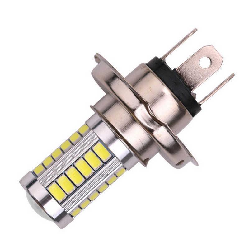 JX-LCLYL 1 pc H4 5630 33LED 12 V عالية السطوع السيارات الضباب ضوء مصباح أضاءه أمامي الأبيض