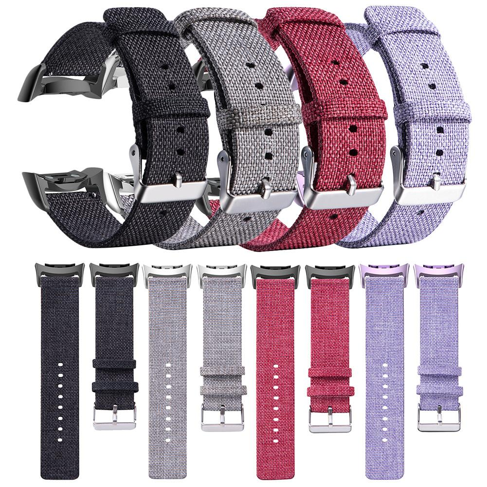 Buckle Nylon Watch Band For Samsung Gear Fit 2 / Fit 2 Pro Fitness Watch Bands Wrist Straps SM-R365 SM-R360 SM-R350 Bracelet