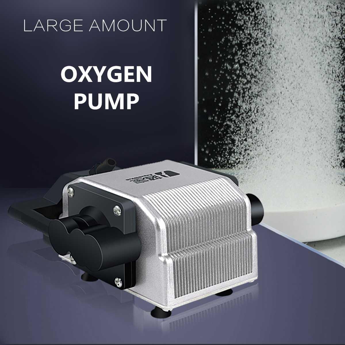 Aquarium à haut rendement énergétique de 16 W augmentant le compresseur d'air ultrasonique de pompe à Air de réservoir de poissons d'oxygène pour des accessoires de poissons d'aquarium
