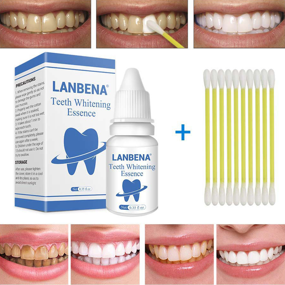 LANBENA Plaque Net Teeth Whitening Teeth Whitening Powder To Black Teeth Yellow Teeth Tobacco Tea Stains