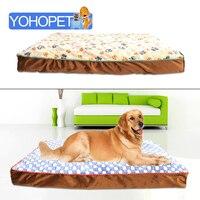 Luxury Large Dog Bed Removable Washable Sofa Bed Pp Cotton Double Bed For Dog Large Dog Sofa Beds Soft Dog House 98x70x10cm