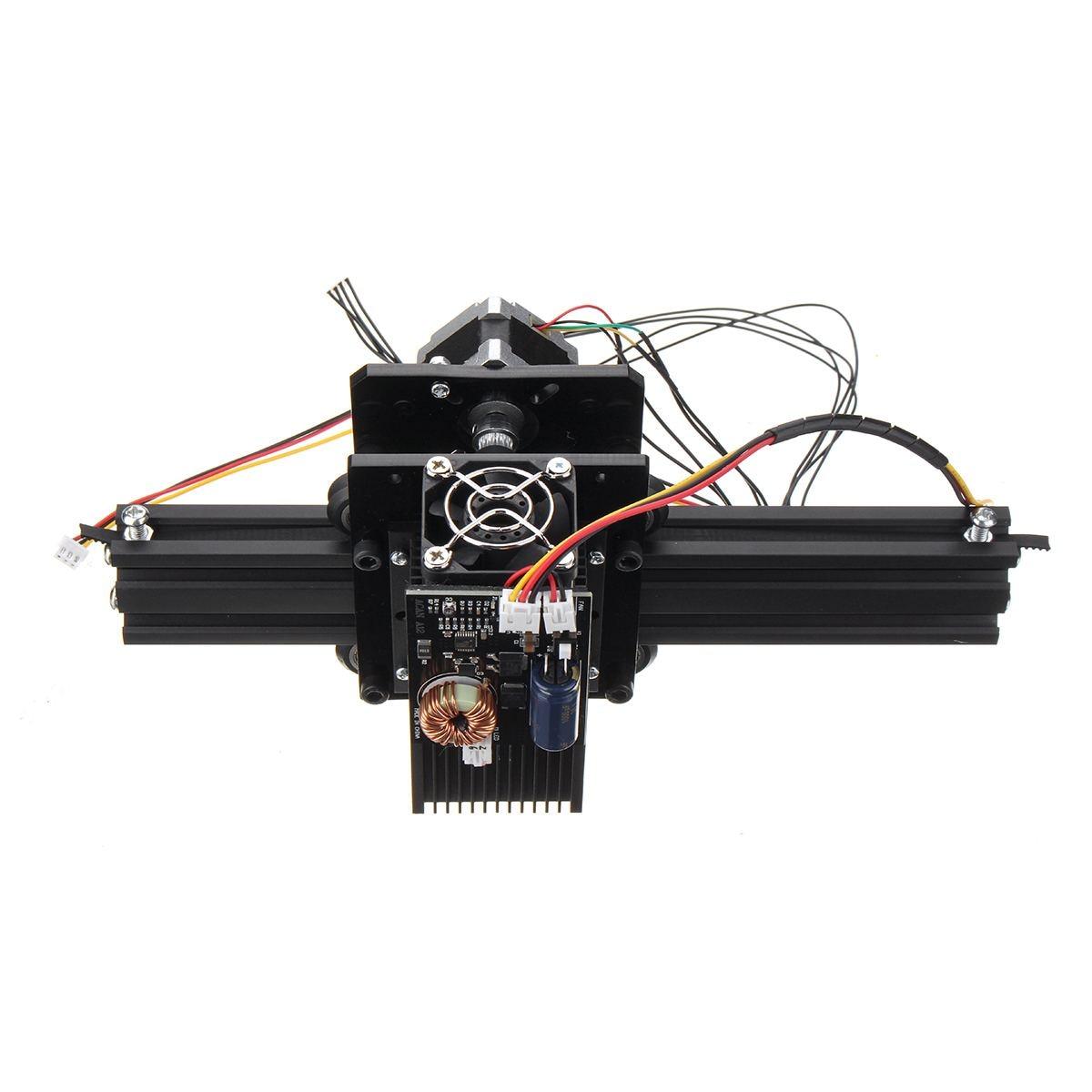12 w 12000 mW 12 v bricolage CNC graveur Laser USB métal pierre gravure Machine bureau bois routeur/Cutter/imprimante pour Windows 7/8/10 - 3