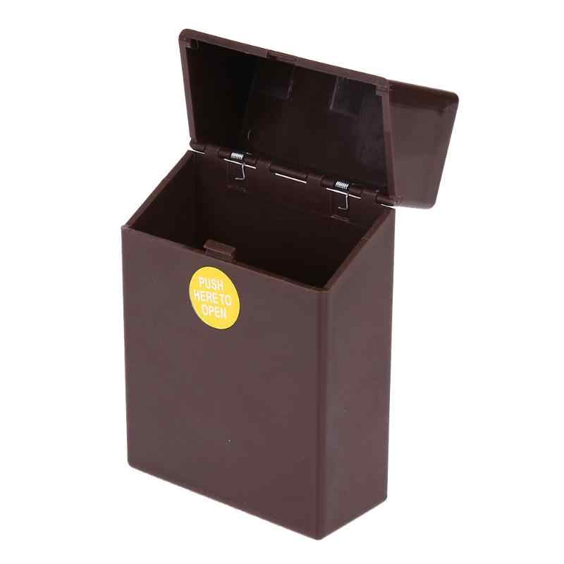 1Pcs Classic Plastic Cigars Cigarette Case Box Holder Container Gift Box Pocket Box Holder Storage Smoking Accessories 10*6*3cm