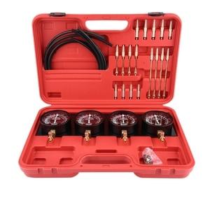 Image 1 - 4Pcs Motorcycle Fuel Vacuum Carburetor Carb Synchronizer Tool Balancer Gauge Kit New