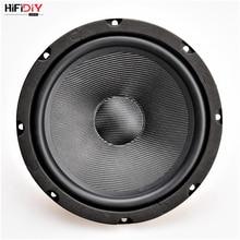 "HIFIDIY LIVE HIFI speakers DIY 8 inch 8"" Midbass Woofer speaker Unit 8 OHM 160W Glass fiber vibratory basin Loudspeaker S8 210"