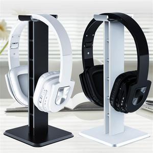 Image 2 - Kopfhörer Halter Kopf Montiert Haken Display Regal Kopfhörer Halterung Aufhänger Unterstützung Halterung Schwarz Weiß 10 cm * 10 cm * 25 cm Neue