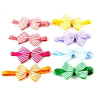 100PCS/Pack Pets hot selling 12 Colors Fashion Cute Dog Puppy Cat Kitten Pet Toy Kid Solid Bow Tie Necktie Clothes