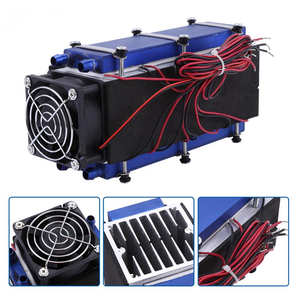 DC 12V 576W 8 Chip TEC1 12706 DIY Thermoelectric Cooler Refrigeration Air Cooling Device Tool