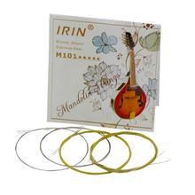 IRIN M101 Guitar Bass Strings Mandolin Strings Acoustic Guitar Strings Steel+Silver-Plated Copper Guitar Parts and Accessories недорго, оригинальная цена