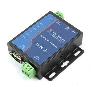 Image 3 - USR TCP232 410S терминальный источник питания RS232 RS485 к TCP/IP преобразователю последовательного сервера Ethernet