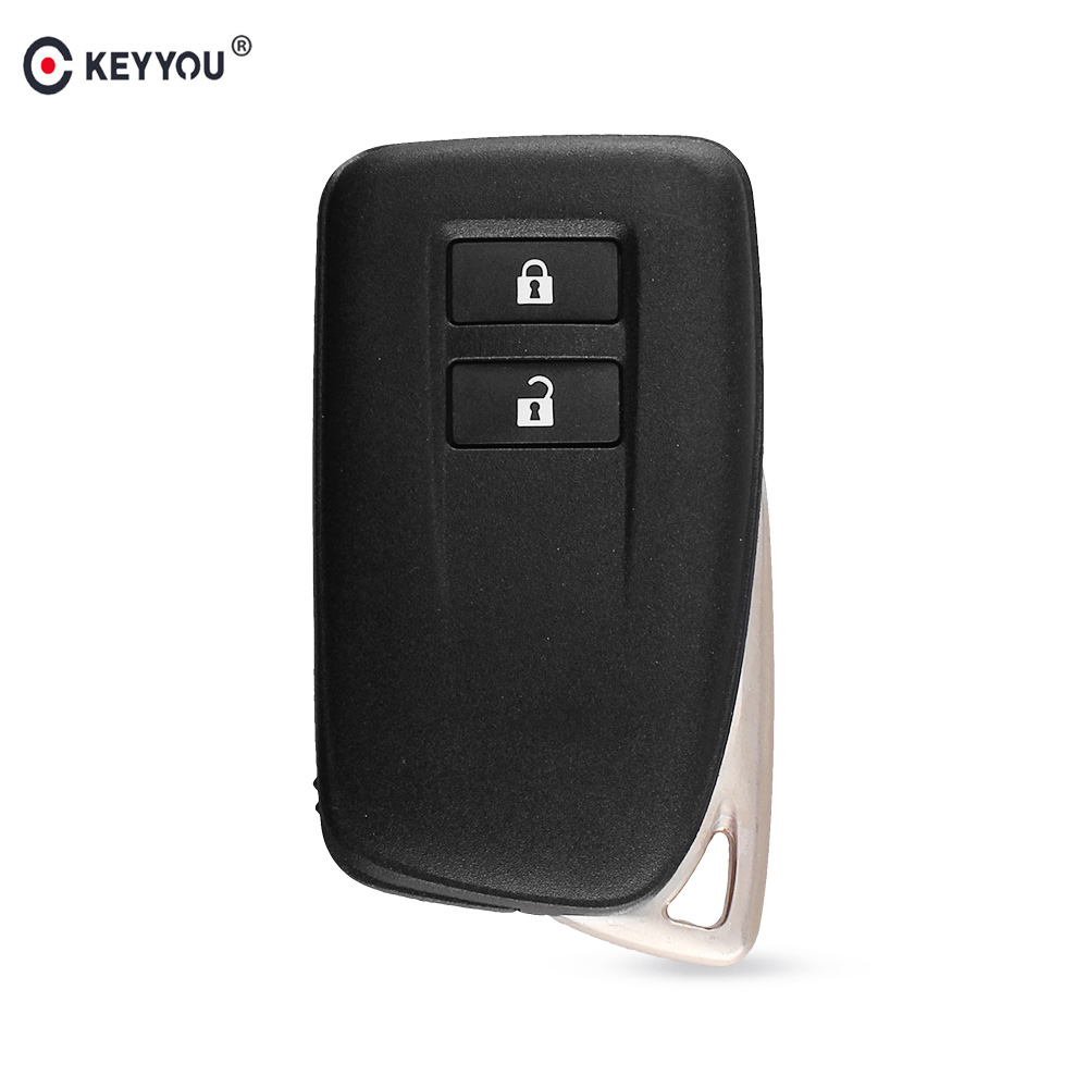 Chiave Telecomando per Lexus ES LS GS IS ES250 ES350 ES300H NX 2 Tasti Car Remote Key Fob Case Shell With Blank Smart Key