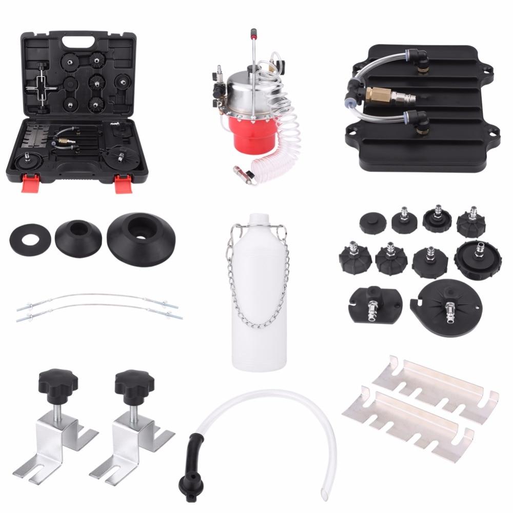 Oversea Pneumatic Air Pressure Bleeder Tool Kit Professional Brake Bleed Set Pneumatic Brake Bleeder