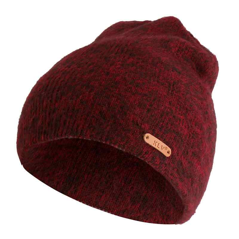 2018 Winter Hats For Woman Men New Beanies Knitted Solid Cute Hat Girls  Autumn Female 568ef4e26e8