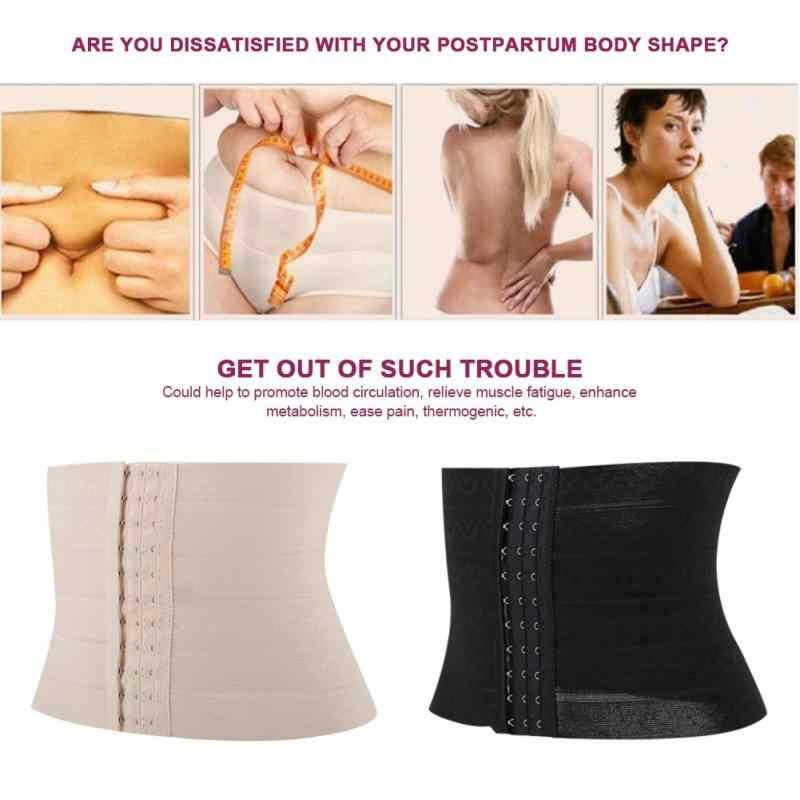 Postparto vientre cinturón cintura entrenador maternidad corsé elástico maternidad soporte postparto recuperación cintura adelgazante vendaje