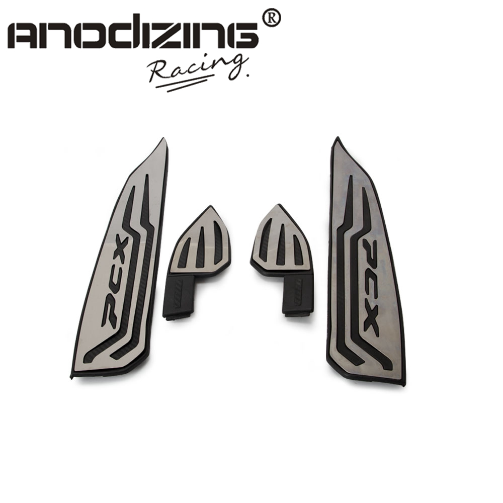 For Honda pcx 125 150 2017 2018 Motorcycle Modified Aluminum alloy parts PCX125 150 pcx footrests footpads foot rest mats pads