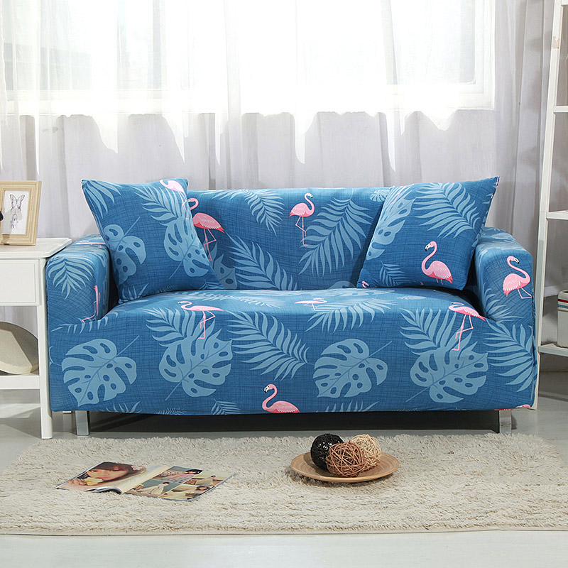 Floral Printing Sofa Cover Flexible Stretch Big Elasticity Couch Cover Loveseat Corner Cover Sofa Slipcover cogines para sofa37 Slipcover
