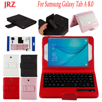8 inch Tablet Case For Samsung Galaxy Tab A T350 T351 T355 P350 P355 Detachable WiFi Bluetooth Keyboard Leather Stand Cover