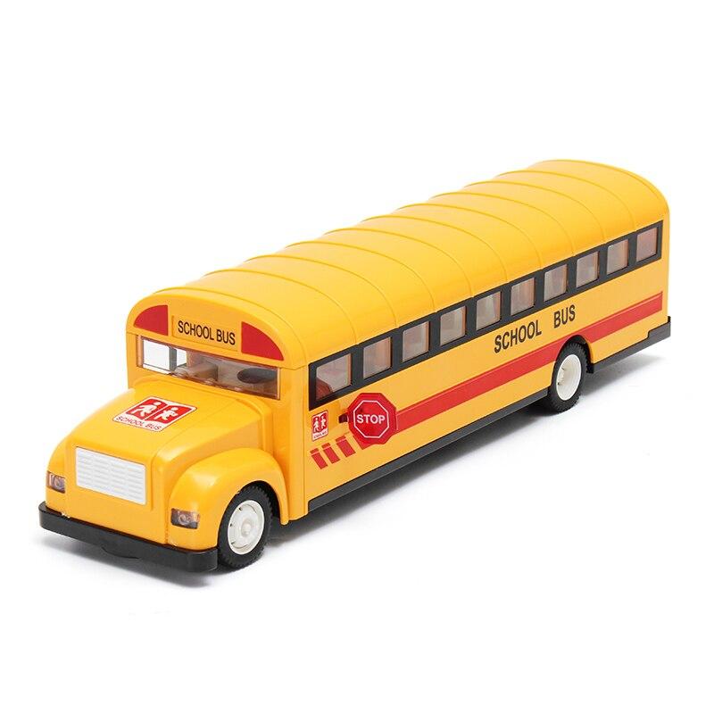 2.4 GHz jaune télécommande voiture école Bus charge électrique porte ouverte RC voiture modèle jouet enfants enfants véhicule modèle cadeau amusant