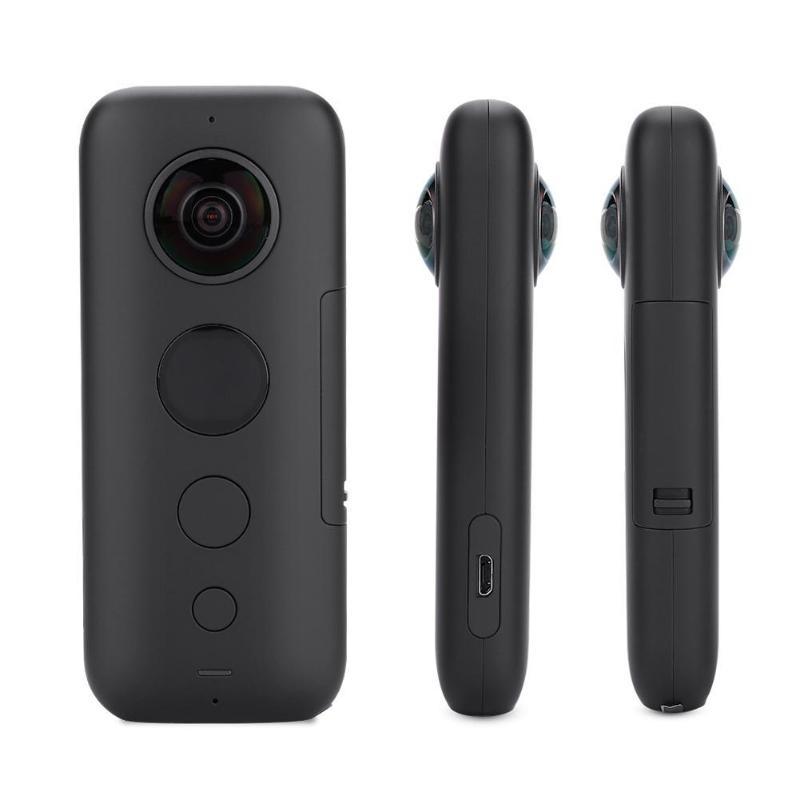 Insta360 ONE X di Sport Macchina Fotografica di Azione di VR 360 Macchina Fotografica Panoramica Anti-shake Video Invisibile Selfie Bastone Giroscopio Webcast per iPhone