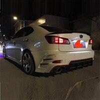 Молдинги Авто Automovil Стайлинг автомобильный аксессуар запчасти Тюнинг автомобиля спереди губ задний диффузор бамперы для Lexus IS серии