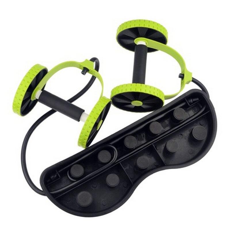 Avec des bandes de résistance AB taille de roue entraîneur Abdominal équipement de Fitness Gym entraînement à la maison exercice minceur tirer corde 30