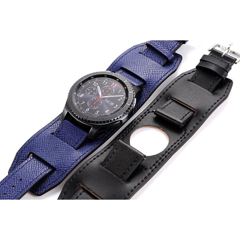 Wholesale Replacement Genuine Leather Watch Band Bracelet for Samsung Gear S3 Frontier Wholesale Replacement Genuine Leather Watch Band Bracelet for Samsung Gear S3 Frontier