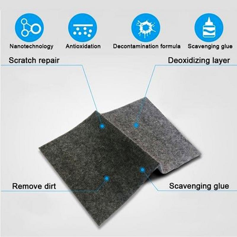 Car Scratch Eraser Magic Car Scratch Repair Remover Polish Cloth Cleans And Removes Rust Stains And Spots From