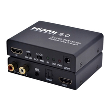 Hdmi 2,0 к Hdmi аудио эксрактор Поддержка 4 К/60 Гц Yuv 4:4:4 Hdr Arc для Hd Box Ps3 Ps4