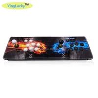 Sanwa Pandora Box 9 1500 in 1 Arcade Game Acrylic console 2 Players stick controller console HDMI VGA USB Pandora box 6s/9/9s