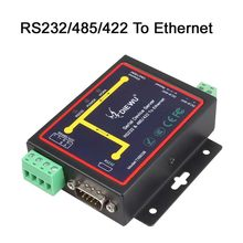 RJ45 a RS232 + Modbus RS485 Industrial/TCP/RTU/UDP serie RS232 RS485 RS422 a dispositivo Ethernet servidor(China)