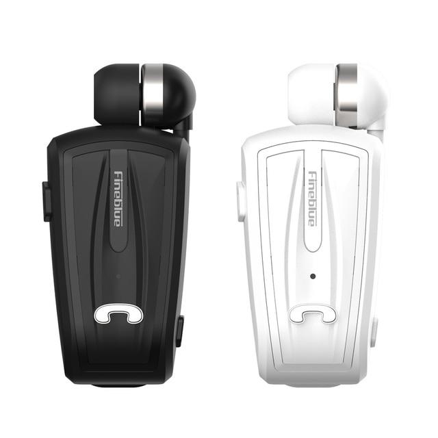 Fineblue Wireless Bluetooth Earphones In-ear Headset Business Bluetooth 4.0 Wear Clip with Mic bluetooth earphone for phones