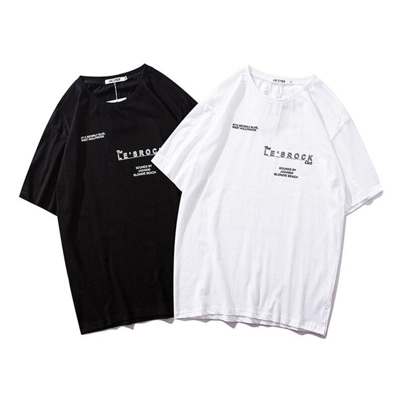 Hip Hop Qr Code Print T-Shirts Men Streetwear Tshirt Short Sleeve O-Neck 2019 Summer Spring Hip Hop Tops Tees For Male Hf003