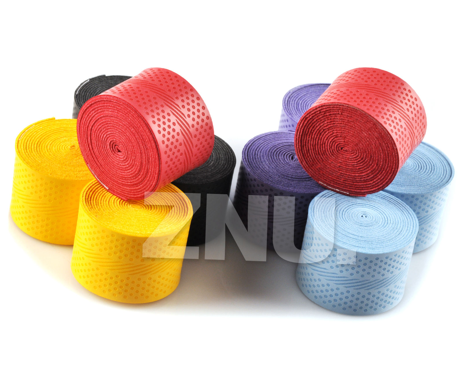 10PCS Sweatband Badminton Tennis Sports Over Grip Griffband Anti slip Overgrip Racket Outdoor Tape Multicolor Sweat D20 in Badminton Accessories Equipment from Sports Entertainment