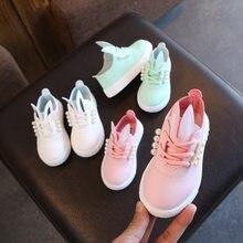 1a4c2c653c 2019 nuevos deportes infantiles para niños y niñas Bajos para ayudar a los  pequeños zapatos blancos conejo moda estudiantes lige.
