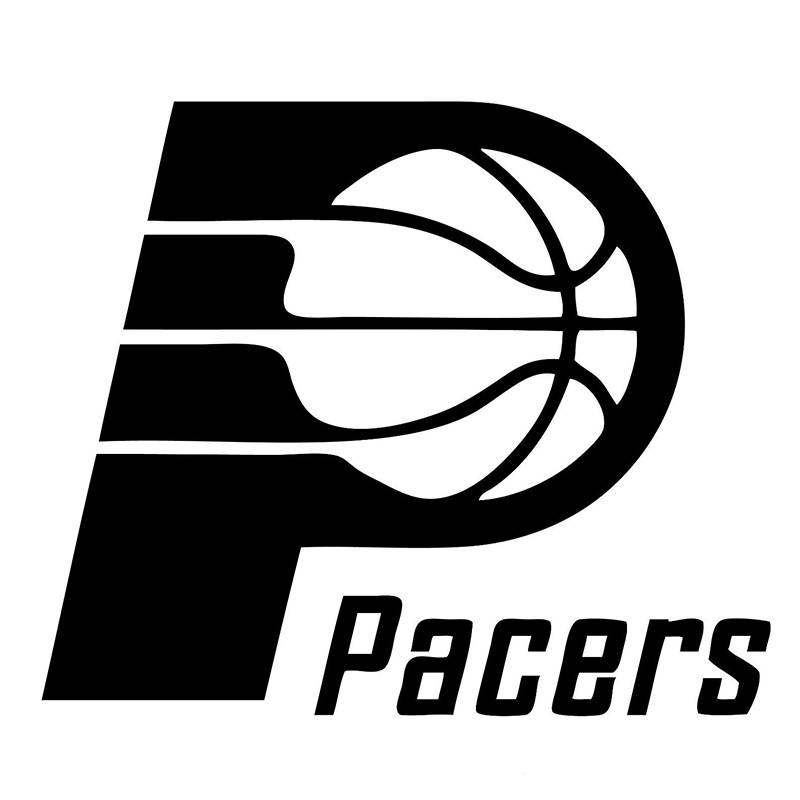 Indiana Pacers Fashion Personality Creative Vinyl Decal Motorcycle SUVs Bumper Car Window Stylings Stickers