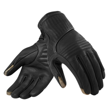 New 2019 Revit Abbey Road Retro Classic Motorcycle Touchscreen Black Racing Gloves Genuine Leather Motorbike Gloves