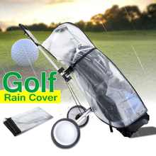 Outdoor Rod Protector Waterproof Dustproof Golf Rain Cover PVC Golf Bag Shield Transparent Store Anti-dust Standard Ball Multifu(China)